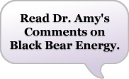 Dr Amy's Comments on Black Bear Energy