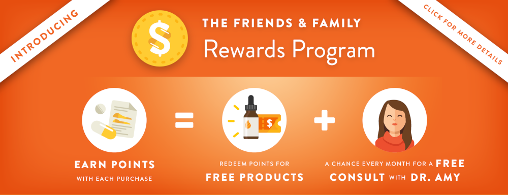 Friends and Family Rewards Program Banner